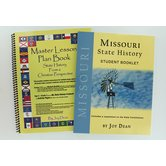 A Helping Hand, Missouri State History Student and Teacher Books, Paperback and Spiral, Grades 3-12