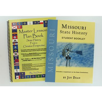 A Helping Hand, State History from a Christian Perspective Missouri Set, Grades 3-12