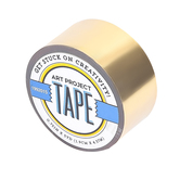 Gold Mirror Art Project Mini Washi Tape, 3/4 inches x 5 yards, 1 Roll