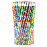 Moon Creative Products, Crazy Color Waves Pencils, Multi-Colored, 7.38 Inches, 1 Each