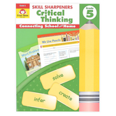 Evan-Moor, Skill Sharpeners Critical Thinking Grade 5 Activity Book, Paperback, 144 Pages, Grade 5