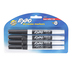 Expo, Low-Odor Dry Erase Markers, Fine Tip, Black, 4-Pack