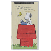DaySpring, Ecclesiastes 11:9 Peanuts® 28-Month Pocket Planner, 3 3/4 x 6 3/4 inches