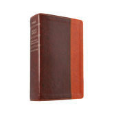 NLT Compact Bible, Large Print, Duo-Tone, Multiple Colors Available