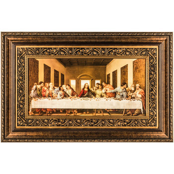 Last Supper Framed Wall Art, 42 1/2 x 27 inches