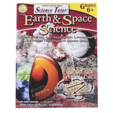 Carson-Dellosa, Science Tutor Earth and Space Science Workbook, Reproducible, 48 Pages, Grades 6-8