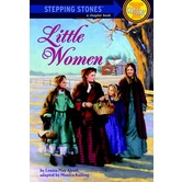 Little Women, A Stepping Stone Book, by Luisa May Alcott and Monica Kulling, Paperback