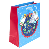 Renewing Faith, Peace On Earth Gift Christmas Gift Bag, Multiple Sizes Available