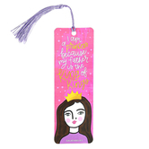 Salt & Light, I Am A Princess Because My Father Is The King of Kings Tassel Bookmark, 2 x 6 inches