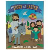 The Story of Easter: Bible Sticker & Activity Book, 16 Pages