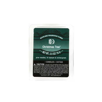 D&D, Christmas Tree Scented Wax Melts, 6 Cubes, 2 1/2 ounces