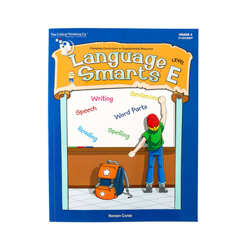 Critical Thinking Company, Language Smarts, Level E, Grade 4
