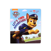 Paw Patrol: Let's Find Adventure, by Mike Jackson, Board Book