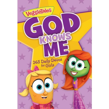 VeggieTales, God Knows Me: 365 Daily Devotions for Girls, Paperback