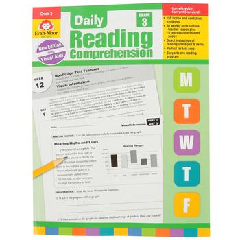 Evan-Moor, Daily Reading Comprehension Grade 3, Paperback, 208 Pages, Grade 3