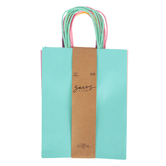 the Paper Studio, Medium Pastel Craft Bags, Assorted Colors, 10 1/4 x 8 Inches