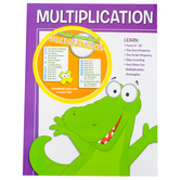 Twin Sisters, Multiplication Workbook and Music Download, 48 Pages, Grades 2-5