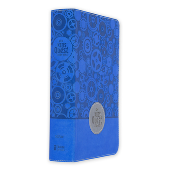 NIrV Kids Quest Study Bible, Duo-Tone, Multiple Colors Available