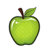 Renewing Minds, Red and Green Apple 2-Sided Decoration, 15 x 19 inches, 1 Piece