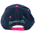 Cherished Girl, Ephesians 1:3, Blessed Adjustable Cap, Blue and Pink