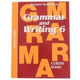 Saxon Grammar and Writing Student Workbook, Grade 6, Curtis Hake, 158 Pages