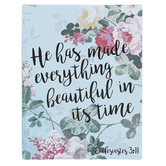 Universal Designs, Ecclesiastes 3:11 He Has Made Everything Beautiful Magnet, 2 1/2 x 3 1/4 inches