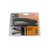 Bostitch Desktop Full Strip Stapler Kit with Remover and 5,000 Staples, Black, 7.63 Inches