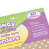 Teacher Created Resources, Clingy Thingies Gold Shimmer with White Polka Dots Border Trim, 13 Feet
