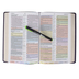 KJV Rainbow Study Bible, Imitation Leather, Purple