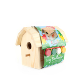 Paint-a-House, My Little Birdhouse with Paint Kit, Grades K-5