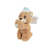 Precious Moments, Pray with Me Lamb Plush Toy, 1 year and older, Green and Cream, 11 inches