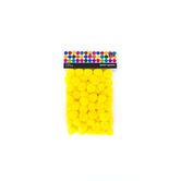 Tree House Studio, Pom Poms, 1 inch, Yellow, 80 Pieces