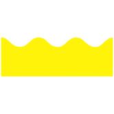 Renewing Minds, Scalloped Border Trim, 38 Feet, Yellow