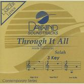 Through It All, Accompaniment Track, As Made Popular by Selah, CD
