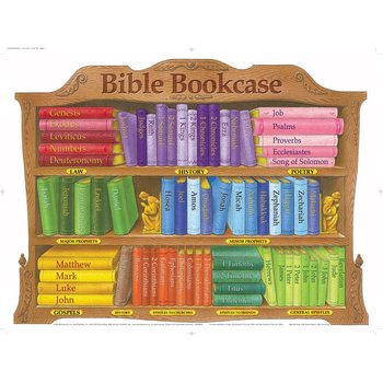 Books of the Bible Bookcase, by Rose Publishing, Wall Chart