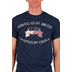Red Letter 9, American By Birth Christian By Choice, Men's T-Shirt, Navy