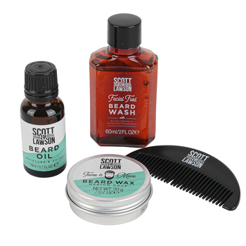 Paladone Products, Scott and Lawson Beard Fuel Kit, 4 Pieces