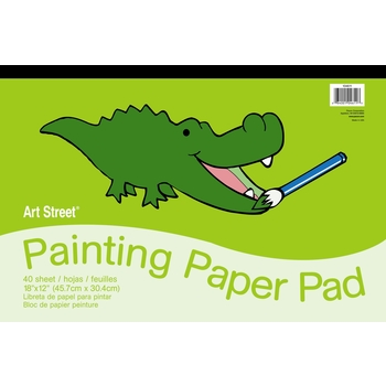 Pacon, Painting Paper Pad, 18 Inches by 12 Inches, 40 Sheets