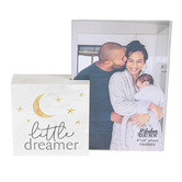 P. Graham Dunn, Little Dreamer Photo Frame, Wood & Acrylic, Holds 4 x 6 inch Photo, 6 1/2 x 6 inches