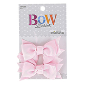 Creations of Grace, Small Hair Bow Clips, Grosgrain Ribbon, Multiple Colors Available, Set of 2