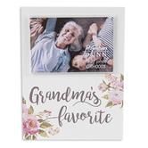 P. Graham Dunn, Grandma's Favorite 2 x 3 Photo Frame, White and Pink, 5 x 3.75 x 0.38 Inches