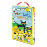Pete the Cat's Super Cool Reading Collection, by James Dean, Boxed Set
