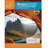 KJV Standard Lesson Commentary 2021-2022: Large Print Edition, by David C Cook, Paperback