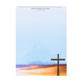 Renewing Minds, Power of God-Cross, Letterhead, 8.5 x 11 Inches, Multi-Colored, 50 Sheets