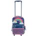 Stephen Joseph, Rainbow Classic Rolling Luggage, 14 1/2 x 18 inches