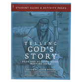 Well-Trained Mind Press, Telling God's Story Year One Student Activity Book, Paperback, Grade 1