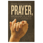 Salt & Light, Devote Yourself to Prayer Church Bulletins, 8 1/2 x 11 inches Flat, 100 Count