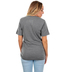NOTW, I Am His, Women's Short Sleeve T-Shirt, Grey Heather, 2X-Large