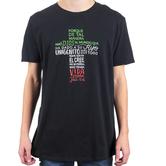 John 3:16 For God So Loved (Spanish), Men's Short Sleeve T-shirt, Black, S-2XL