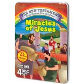 Miracles of Jesus, The New Testament Bible Stories for Children, 4 Disc Set